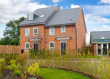 "Thumbnail 3 bedroom semi-detached house for sale in ""Barwick"" at Birch Road, Walkden, Manchester"