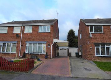 Thumbnail 3 bed semi-detached house for sale in Tudor Way, Newhall