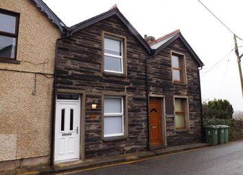 Thumbnail 2 bed terraced house for sale in Fron Heulog, Penrhyndeudraeth, Gwynedd, .