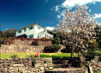 Thumbnail 4 bedroom detached house for sale in Three Cliffs, Penmaen, Gower