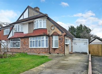 Thumbnail 3 bed semi-detached house for sale in Bradstock Road, Stoneleigh, Surrey