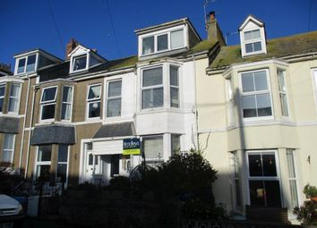 Thumbnail 4 bed terraced house for sale in Ayr Terrace, St. Ives, Cornwall