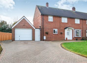 Thumbnail 4 bed semi-detached house for sale in Perring Close, Sharnbrook, Bedford
