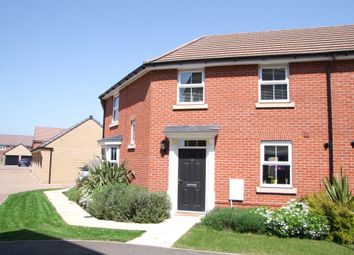 Thumbnail 3 bed semi-detached house for sale in Franklin Road, Saxmundham, Suffolk