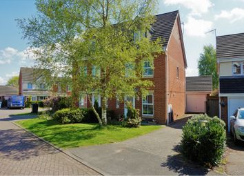 Thumbnail 3 bed semi-detached house for sale in Norman Dagley Close, Earl Shilton, Leicester