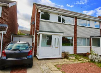Thumbnail 3 bed semi-detached house for sale in Chichester Close, Newcastle Upon Tyne