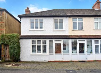 Thumbnail 3 bed end terrace house for sale in Washington Road, Worcester Park, Surrey