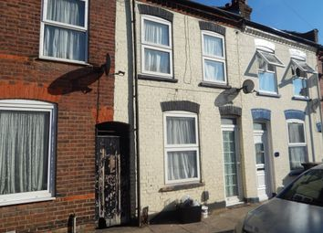 Thumbnail 2 bed terraced house for sale in Hampton Road, Luton