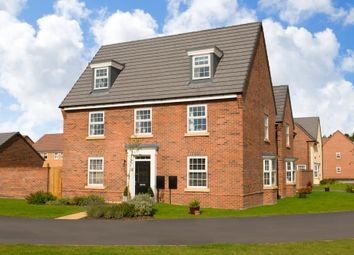 "Thumbnail 5 bedroom detached house for sale in ""Maddoc"" at Tranby Park, Jenny Brough Lane, Hessle"