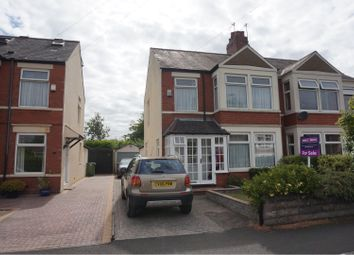Thumbnail 3 bedroom semi-detached house for sale in Crystal Avenue, Cardiff