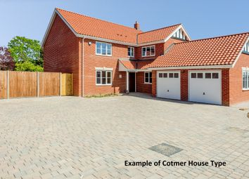 Thumbnail 5 bedroom detached house for sale in Beech Tree House, Corton Long Lane, Lowestoft