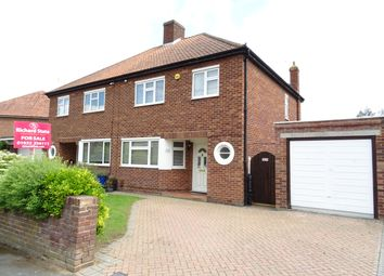 3 bed semi-detached house for sale in Wendley Drive, New Haw KT15