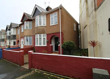 Thumbnail 3 bed end terrace house for sale in Priory Road, Mannamead, Plymouth