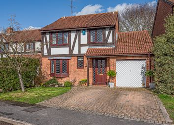 Thumbnail 4 bed detached house for sale in Somerville Close, Wokingham
