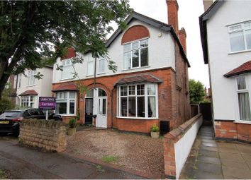 Thumbnail 3 bedroom semi-detached house for sale in Edward Road, West Bridgford