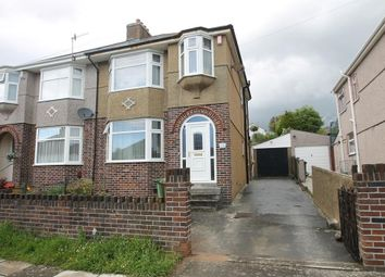 Thumbnail 3 bed semi-detached house for sale in Gill Park, Plymouth