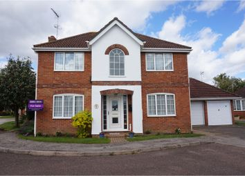 Thumbnail 4 bed detached house for sale in Kestrel Drive, Wisbech