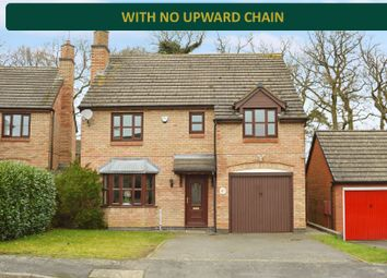4 bed detached house for sale in Bonner Close, Oadby, Leicester LE2