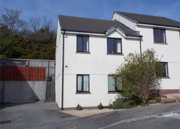 Thumbnail 2 bed semi-detached house for sale in Poltisco Close, Truro