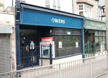 Thumbnail Retail premises for sale in Colwyn Bay, Conwy