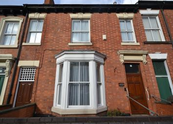 Thumbnail 4 bed terraced house for sale in Lincoln Street, Leicester