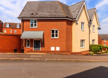 Thumbnail 3 bed semi-detached house for sale in Thoresby Drive, Hereford