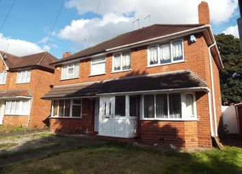 3 bed semi-detached house for sale in Hathersage Road, Great Barr, Birmingham B42