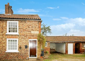 Thumbnail 2 bed cottage for sale in Drury Lane, Helperby, York