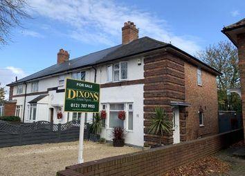 Thumbnail 3 bedroom end terrace house for sale in Gospel Farm Road, Birmingham, West Midlands