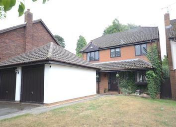 Thumbnail 4 bed detached house for sale in Whitebeam Close, Wokingham, Berkshire