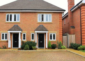 Thumbnail 2 bed semi-detached house for sale in Amber Close, Epsom