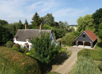 Thumbnail 4 bed cottage for sale in Lawshall Road, Hawstead, Bury St. Edmunds