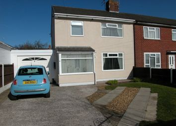 Thumbnail 3 bed end terrace house for sale in Drake Road, Neston