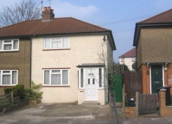Thumbnail 2 bed semi-detached house to rent in Colne Avenue, Watford