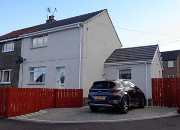 Thumbnail 2 bed semi-detached house for sale in Lornshill Crescent, Alloa