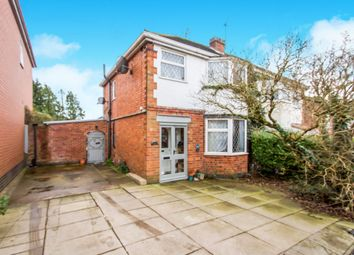 Thumbnail 3 bed semi-detached house for sale in Charnwood Drive, Thurnby, Leicester