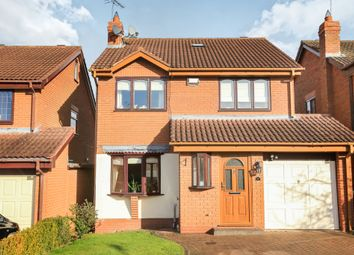 Thumbnail 4 bed detached house for sale in Pochard Close, Kidderminster