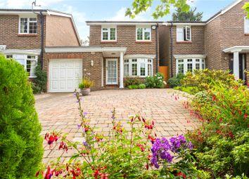 Thumbnail Link-detached house for sale in Marlborough Drive, Weybridge, Surrey