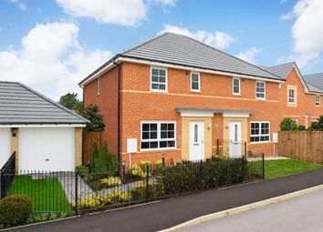 "Thumbnail 3 bed semi-detached house for sale in ""Ellerton"" at Riverston Close, Hartlepool"