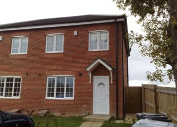 Thumbnail 3 bed semi-detached house to rent in Ashbank Place, Crewe