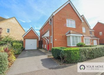 Thumbnail 3 bed detached house for sale in Seafields Drive, Hopton, Great Yarmouth