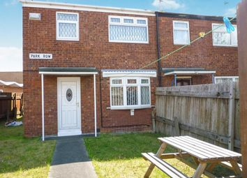 Thumbnail 3 bedroom end terrace house for sale in Park Row, Park Street, Hull