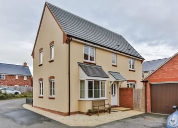 Thumbnail 3 bed detached house for sale in Washpool Road, Bishops Cleeve, Cheltenham