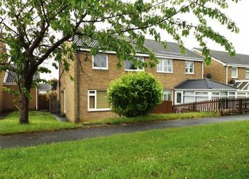 Thumbnail 3 bed semi-detached house for sale in Belsay Close, Pegswood, Morpeth