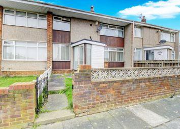 Thumbnail 2 bed terraced house for sale in Eddleston Walk, Hartlepool