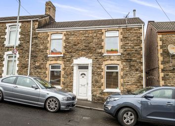 Thumbnail 4 bedroom semi-detached house for sale in Crown Street, Morriston, Swansea