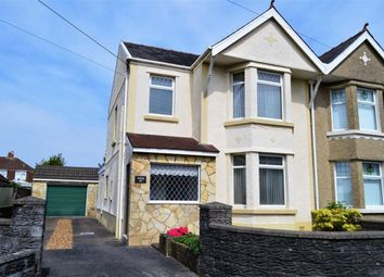 Thumbnail 3 bed semi-detached house for sale in Frampton Road, Swansea