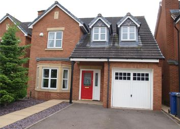 Thumbnail 4 bed detached house for sale in Alderson Drive, Stretton, Burton-On-Trent, Staffordshire