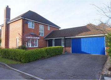 Thumbnail 4 bed detached house for sale in Shires Close, Ringwood