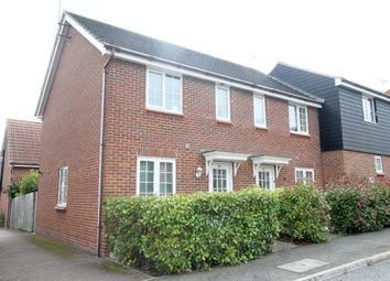 Thumbnail 2 bedroom end terrace house for sale in Hales Barn Road, Haverhill